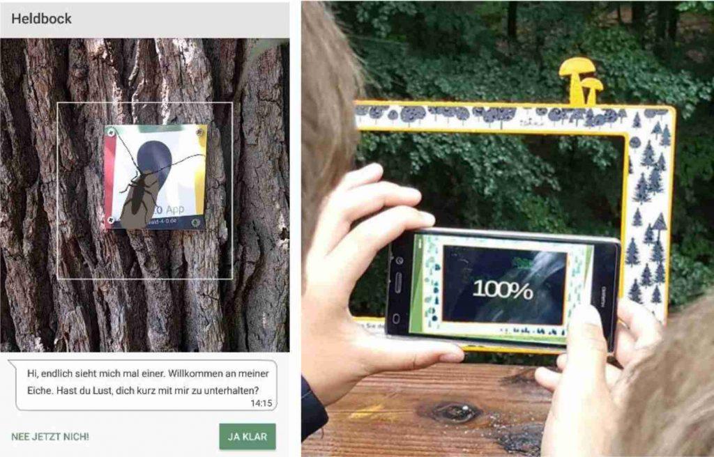 Standortsbestimmung mit Augmented Reality