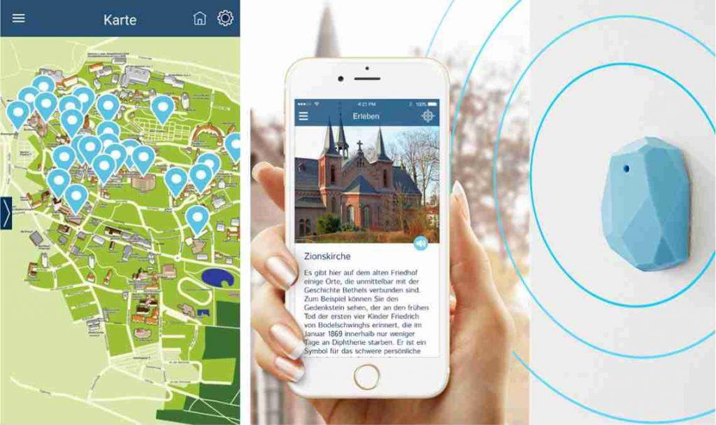 Anwendung Bluetooth Beacon Bethel